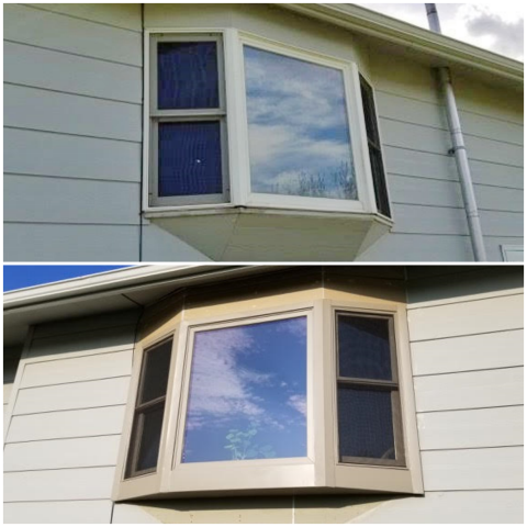 Piedmont, SD - We replaced several old windows in this Piedmont, SD home with Renewal by Andersen windows.  These will be much more efficient and they look fantastic!