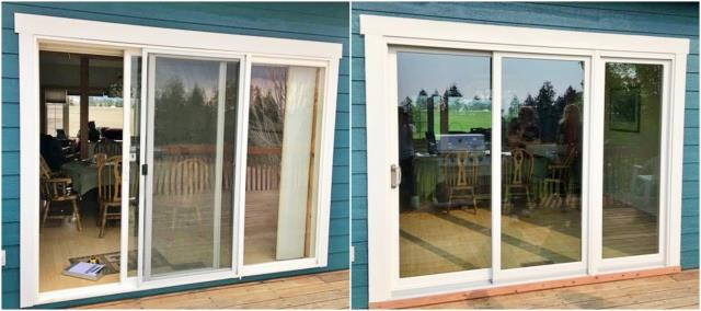 Columbia Falls, MT - We replaced the patio door with a Renewal by Andersen door in this Columbia Falls home.