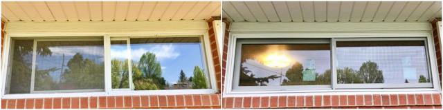 Cheyenne, WY - We replaced this old window with a Renewal by Andersen slider in a Cheyenne home.