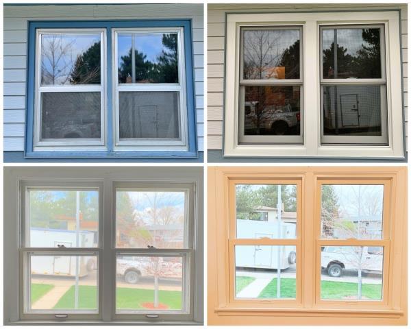 Casper, WY - This old window was replaced by a new Renewal by Andersen window in Casper.