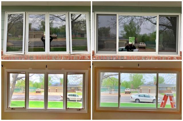 Worland, WY - This Worland home replaced their old wooden windows with a new Renewal by Andersen slider.