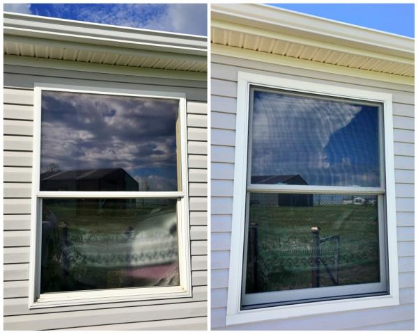 Gillette, WY - We love repeat customers!  In this Gillette home, we replaced a vinyl window with a Renewal by Andersen Fiberex window.