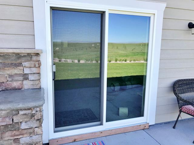 Cheyenne, WY - This Cheyenne home is now enjoying a beautiful new Renewal by Andersen patio door.  Not only does it look great, but it'll be energy efficient, as well!