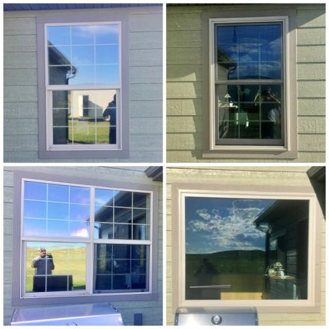 Three Forks, MT - This home in Three Forks upgraded their windows to new Renewal by Andersen windows.