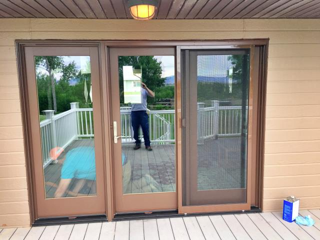 Lovell, WY - This Lovell home upgraded their doors with Renewal by Andersen energy efficient doors.
