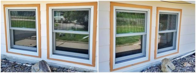 Box Elder, SD - These new Renewal by Andersen windows look good from every angle in this Rapid City home!