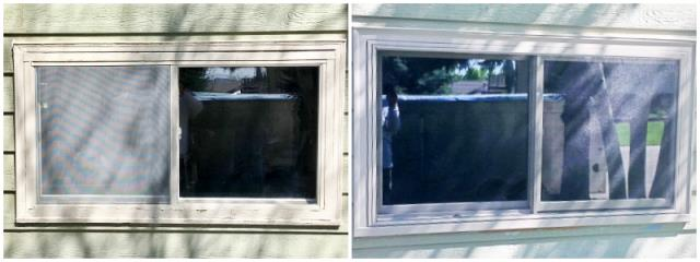 Douglas, WY - In this Douglas home, we replaced a wood-framed window with a new Renewal by Andersen Fibrex window.