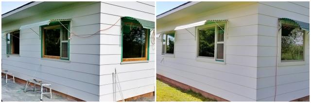 Spearfish, SD - This Rapid City home upgraded their picture windows to Renewal by Andersen windows, increasing their curb appeal and efficiency!