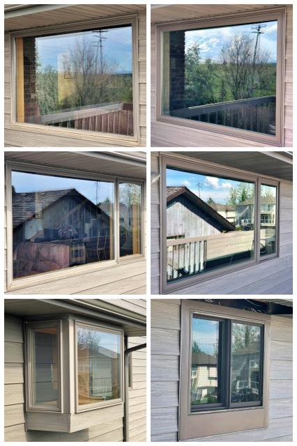 Great Falls, MT - We replaced four windows over looking Great Falls. The new Renewal by Andersen Fibrex windows give the best view in this home.