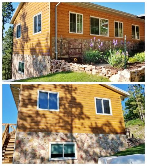 Spearfish, SD - This Rapid City home upgraded their windows to new Renewal by Andersen windows.