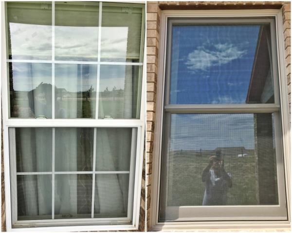 Cheyenne, WY - This Cheyenne home updated their old window to a new Renewal by Andersen window.