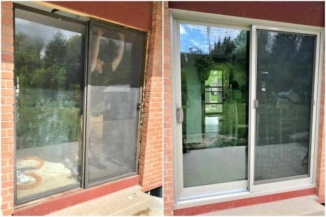 Cheyenne, WY - We can't say enough about this upgraded Renewal by Andersen patio door!  This Cheyenne homeowner is going to love the efficiency, clarity, and beauty of their new door!