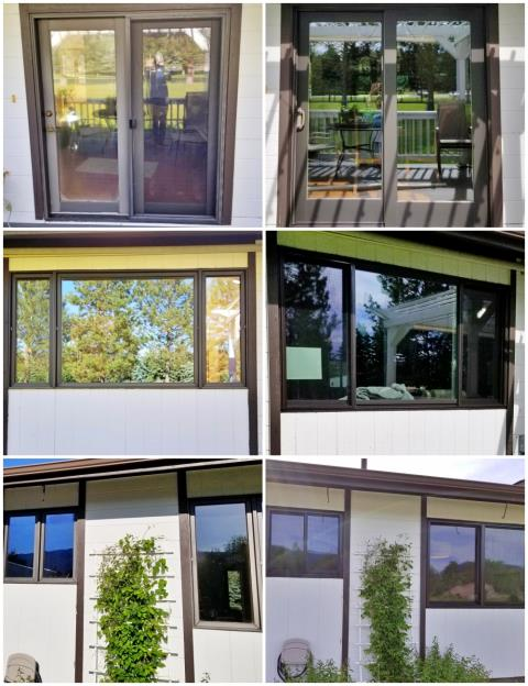 Columbia Falls, MT - This Columbia Falls home received new Renewal by Andersen windows, as well as a new patio door!