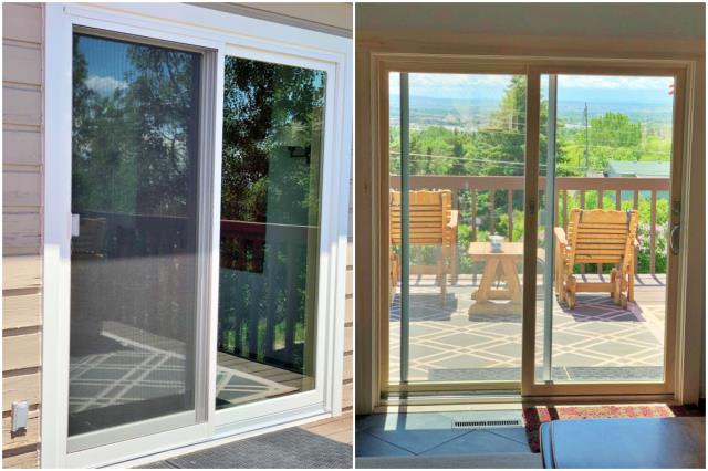 Great Falls, MT - This Great Falls home will be enjoying the views this summer with their new Renewal by Andersen patio door!