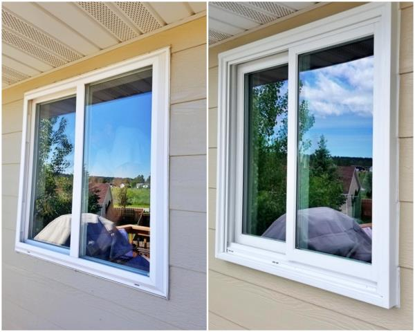 Summerset, SD - This Summerset home had their leaky vinyl window replaced with a Renewal by Andersen Fibrex window.