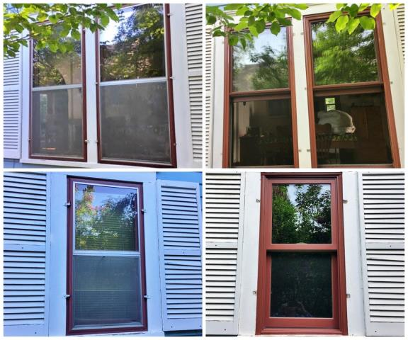 Bozeman, MT - This Bozeman home upgraded their old windows to more efficient Renewal by Andersen windows.
