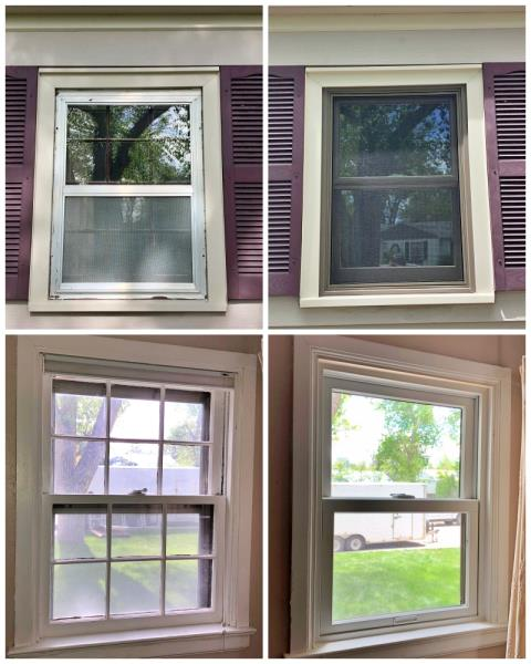 Casper, WY - This Casper home replaced their old wooden windows with more efficient Renewal by Andersen windows.