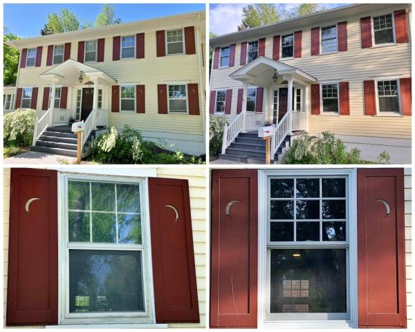 Casper, WY - This gorgeous colonial style home in Casper updated 19 of their old windows with new Renewal by Andersen windows, making the exterior even more beautiful....which hardly seems possible!