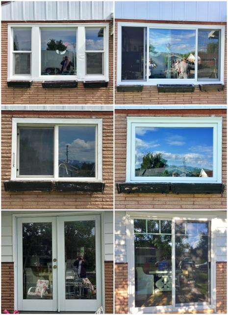 Butte, MT - This Butte home upgraded their old windows and patio door with new Renewal by Andersen products.