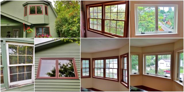 Missoula, MT - This Missoula home replaced their old wooden windows and bay with Renewal by Andersen products.  What a refreshing upgrade!
