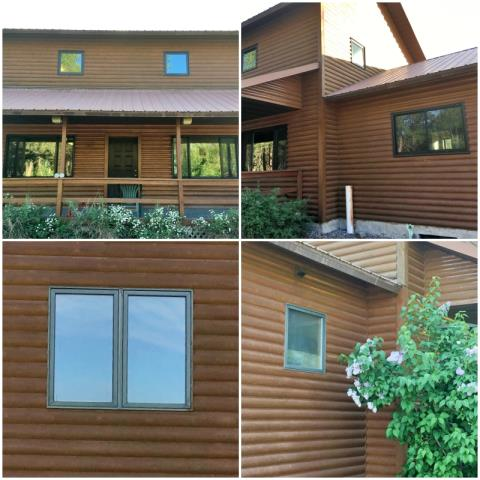 Bonner, MT - This Bonner home upgraded to Renewal by Andersen windows!