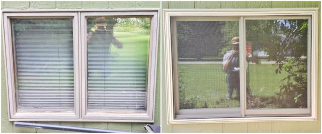 Billings, MT - This Billings home replaced their wood clad windows with a new Renewal by Andersen Fibrex slider.