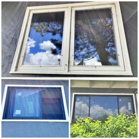 Laramie, WY - Wow!  What a difference a new window can make!  This Laramie home received a major upgrade when they chose Renewal by Andersen Fibrex windows.