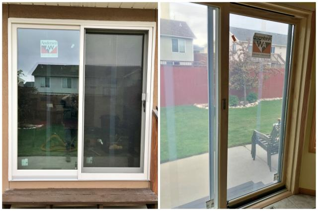 Laramie, WY - This Laramie home upgraded their patio door to a Renewal by Andersen slider.