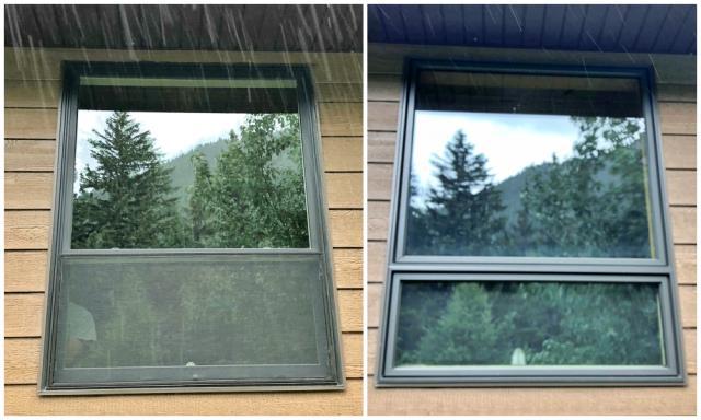 Anaconda, MT - This Anaconda home upgraded to Renewal by Andersen Fibrex windows.