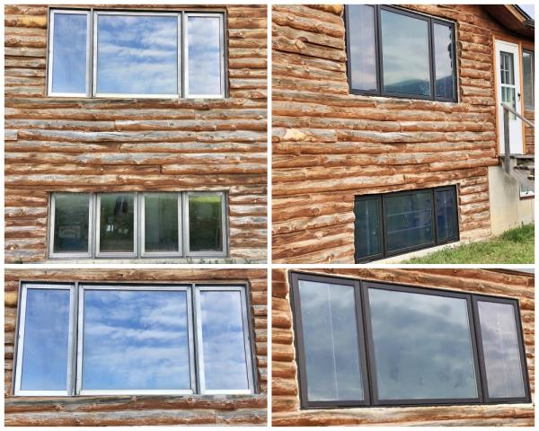 Casper, WY - This Casper home upgraded their old wooden windows to Renewal by Andersen Fibrex windows.