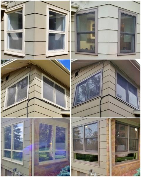 Rapid City, SD - This Rapid City home had their old wooden windows replaced with Renewal by Andersen Fibrex windows.