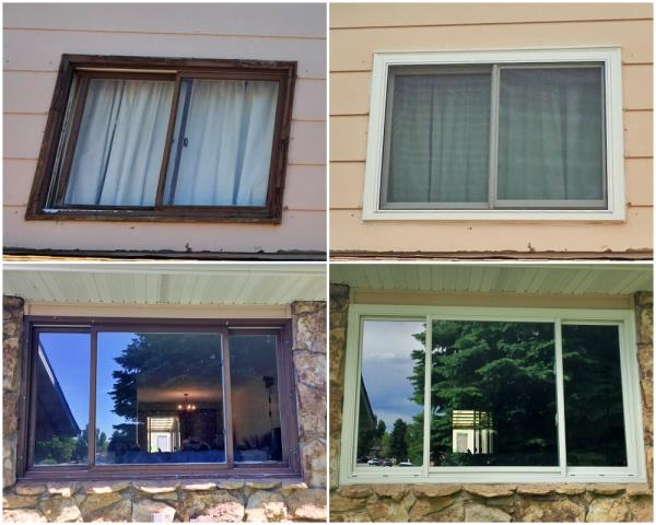 Douglas, WY - This Douglas home replaced their original 1975 windows with new Renewal by Andersen Fibrex windows.