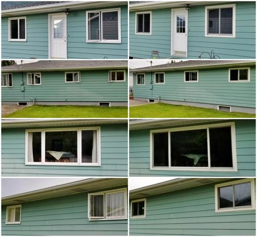 Missoula, MT - This Missoula home replaced their old windows with new Renewal by Andersen Fibrex windows.