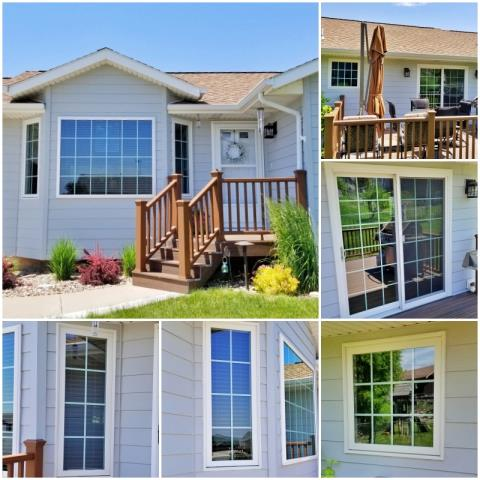 Piedmont, SD - Talk about curb appeal!  This beautiful Piedmont home upgraded their windows and patio door to Renewal by Andersen products, increasing efficiency, clarity, home value and attraction.
