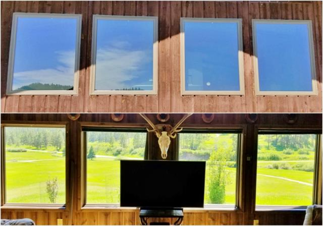 Hill City, SD - This Hill City home is now enjoying their beautiful view through crystal clear panes in their new Renewal by Andersen windows.