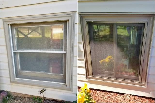 Spearfish, SD - This Spearfish home upgraded their old wood-clad windows to new Renewal by Andersen Fibrex windows.