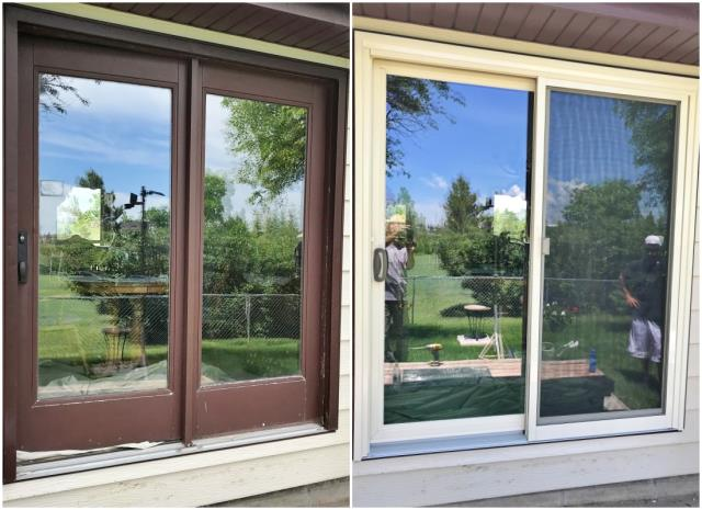 Cheyenne, WY - This Cheyenne home upgraded their patio door to a Renewal by Andersen slider.