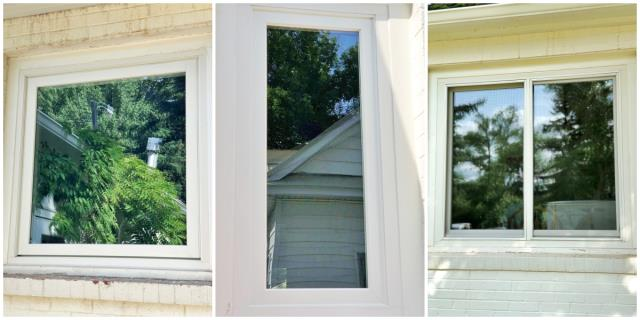 Conrad, MT - In this Conrad home, we replaced six windows with Renewal by Andersen Fibrex windows, keeping the original interior and exterior trim while having new, efficient, functional windows.