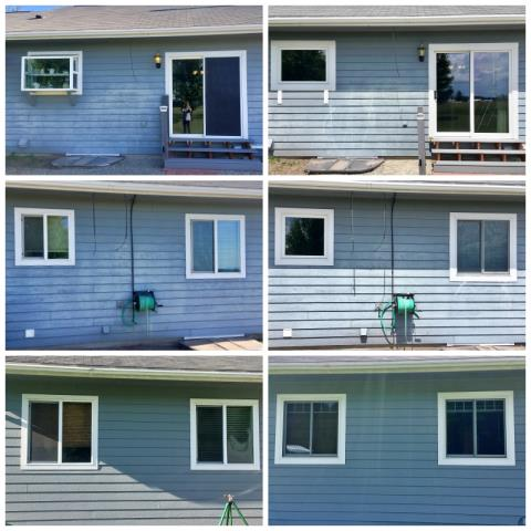 Whitefish, MT - This Whitefish home upgraded their patio door and windows with Renewal by Andersen Fibrex products.
