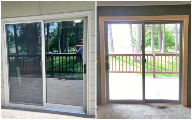 Kalispell, MT - This Kalispell home upgraded their patio door to a Renewal by Andersen slider.