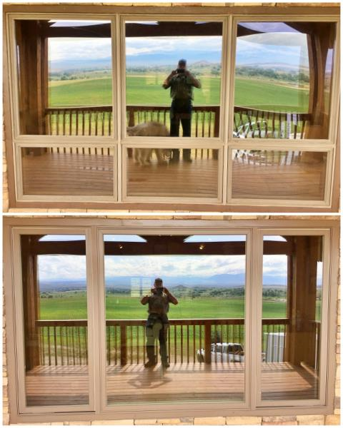 Bridger, MT - This Bridger home replaced their old window with a new Renewal by Andersen Fibrex window.