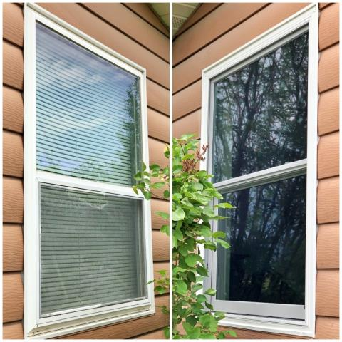 Helena, MT - This Helena home replaced their windows with new Renewal by Andersen Fibrex windows.  The original windows did not have any insulation in this home, and we can't wait to hear about their increased efficiency!