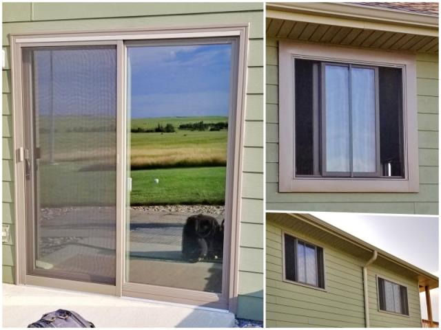 Piedmont, SD - This Piedmont home upgraded their windows and patio door to Renewal by Andersen products.