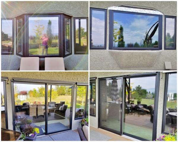 Missoula, MT - This Missoula home upgraded their windows and a patio door to Renewal by Andersen products.