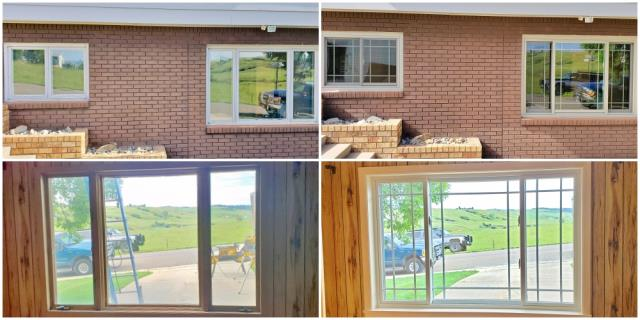 Lewistown, MT - This Lewistown home received quite the polished face-lift when they upgraded their wood and vinyl windows to Renewal by Andersen Fibrex windows!