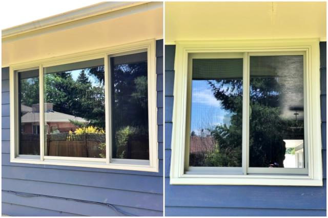 Great Falls, MT - This Great Falls home upgraded their windows to Renewal by Andersen Fibrex windows.