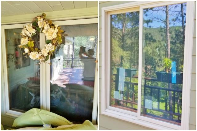 Rapid City, SD - This drafty wood-clad window was replaced with a Renewal by Andersen Fibrex window in this Rapid City home.