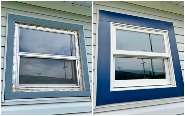 Anaconda, MT - We love the face-lift this Anaconda home received when they upgraded their windows to Renewal by Andersen Fibrex!