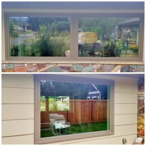 Missoula, MT - This Missoula home upgraded to Renewal by Andersen Fibrex windows, adding efficiency and clarity to their already beautiful home.