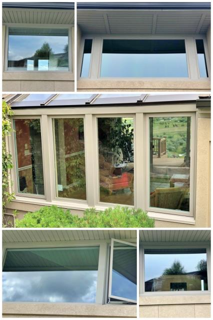 Great Falls, MT - This Great Falls home upgraded their old rotting windows to Renewal by Andersen Fibrex.